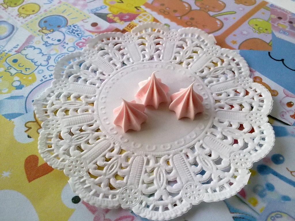 Ciuffo di panna  rosa