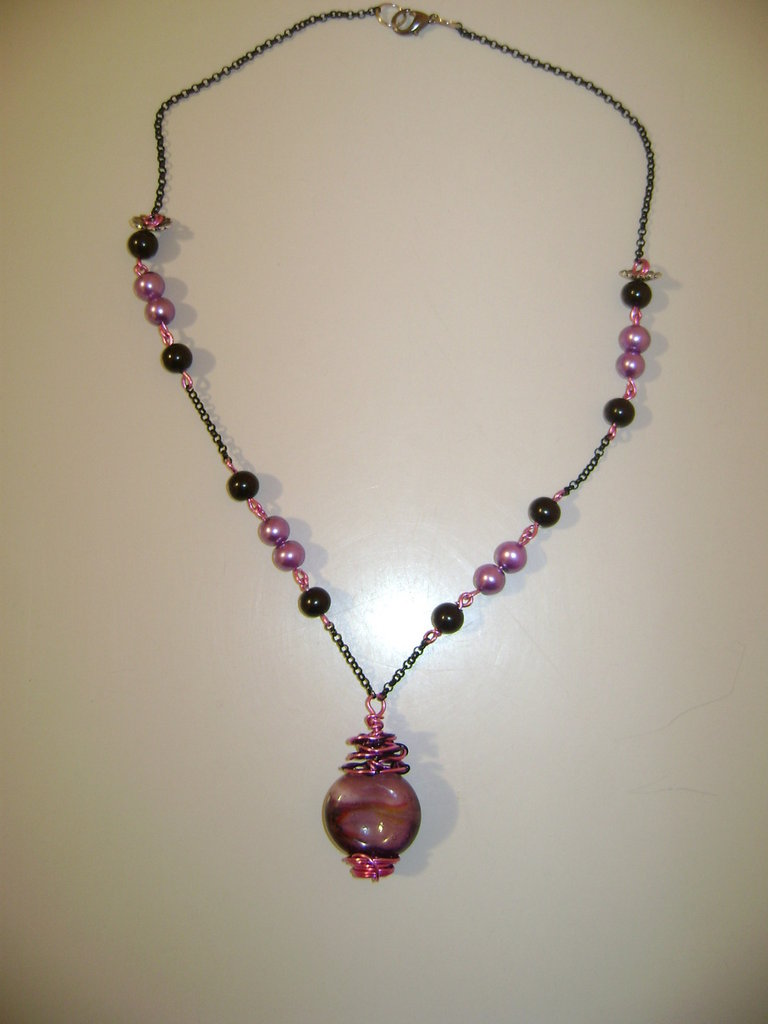"Collana ""Pink Candy"""