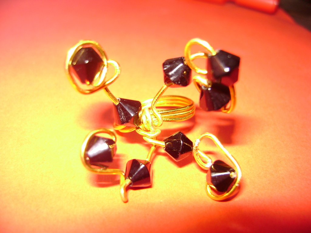 "Anello ""Black & Gold"""