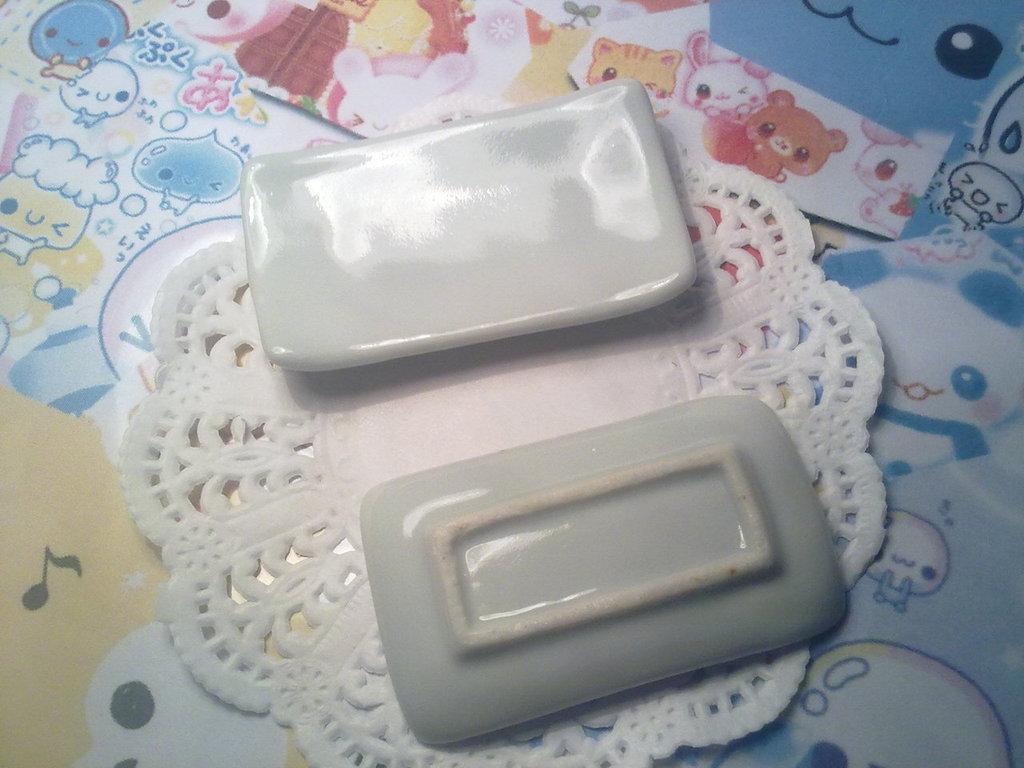 Piatto in ceramica rettangolare