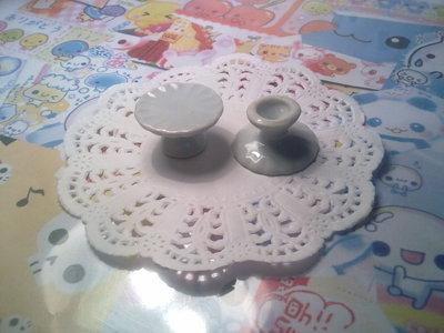 Alza torta in ceramica