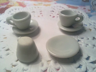 Tazzina da caffè (come da bar) in ceramica