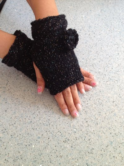 guanti fatti a mano in lana