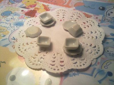 Ciotoline piattini in ceramica