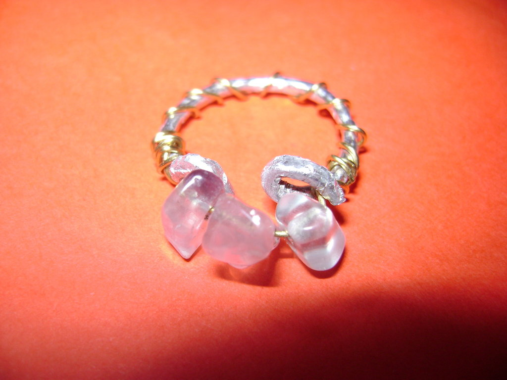 "Anello ""Three stones"""