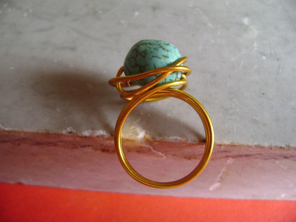 """Anello """"Verderame Gold"""""""