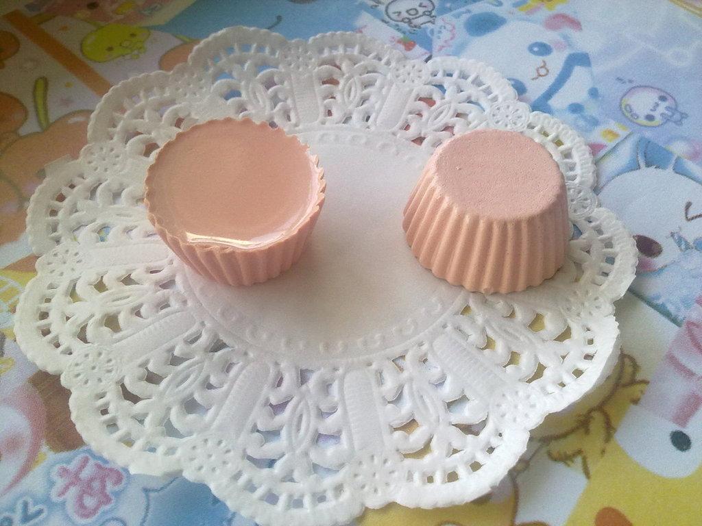 Base cupcake rosa
