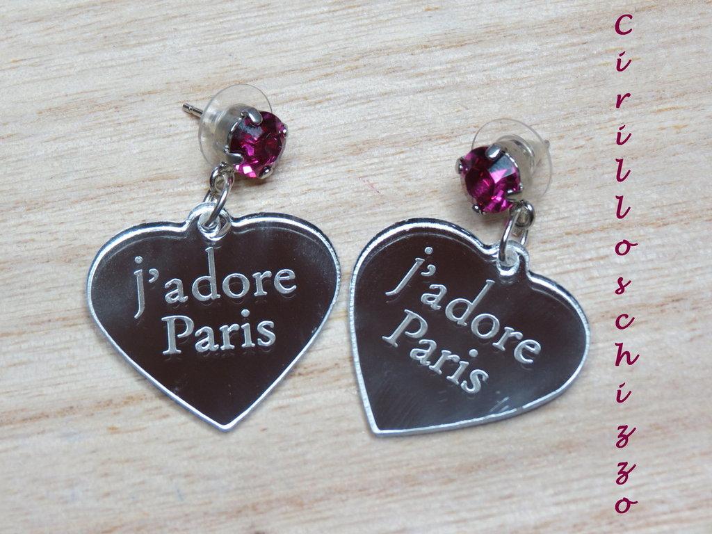 Orecchini J'adore Paris..