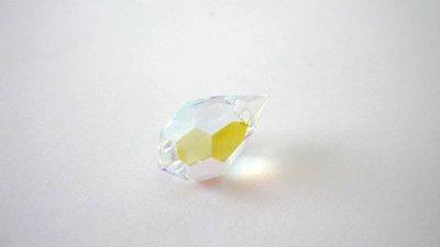 Preciosa® DROP Crystal AB  9 x 15 mm