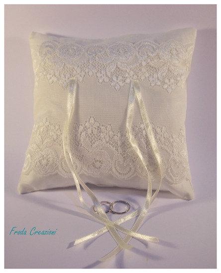 Immagini Cuscini Portafedi.Cuscino Portafedi Ring Beares Pillow Feste Matrimonio Di