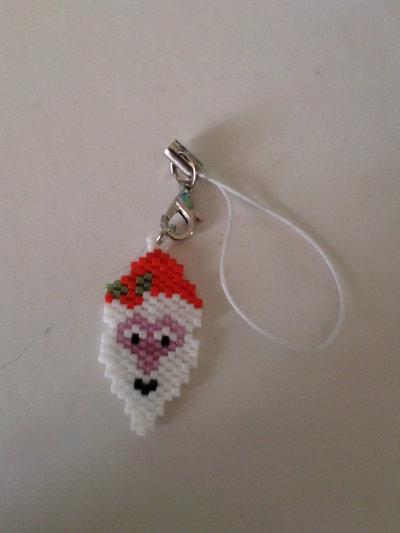 Phone strap Babbo Natale