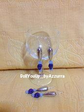 orecchini teschio --- skull earrings