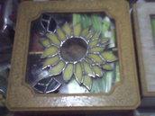 Caja de Té con vitreaux