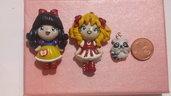 Biancaneve, Candy Candy e il piccolo Clean
