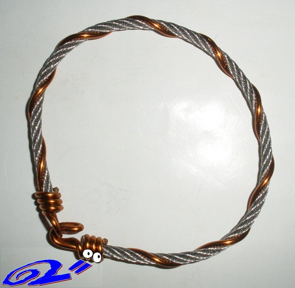 braccialetto rame e acciaio ramacc3