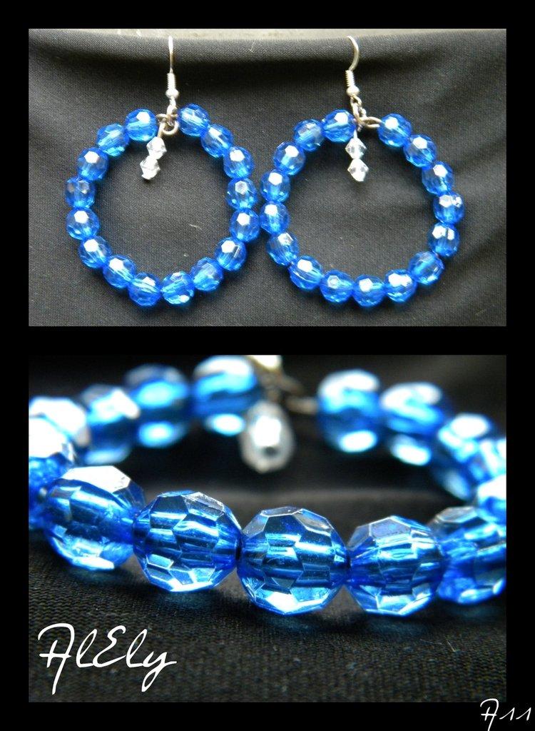 Orecchini Azzurro brillio
