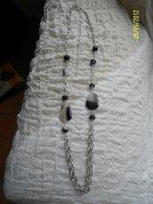 Collana di agata