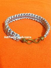 bracciale infinity --- infinity bracelet