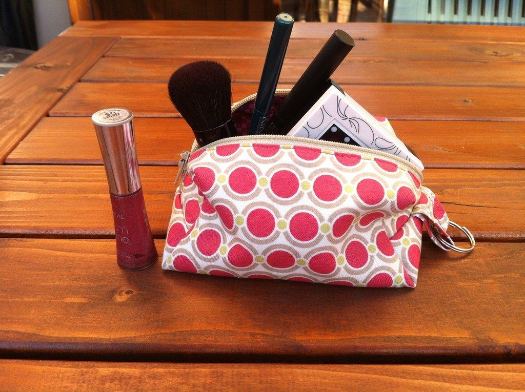 Pochette Pouch con cerniera - ideale per make up, cellulare e altri oggetti