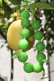 Bracciale di Perle Verdi