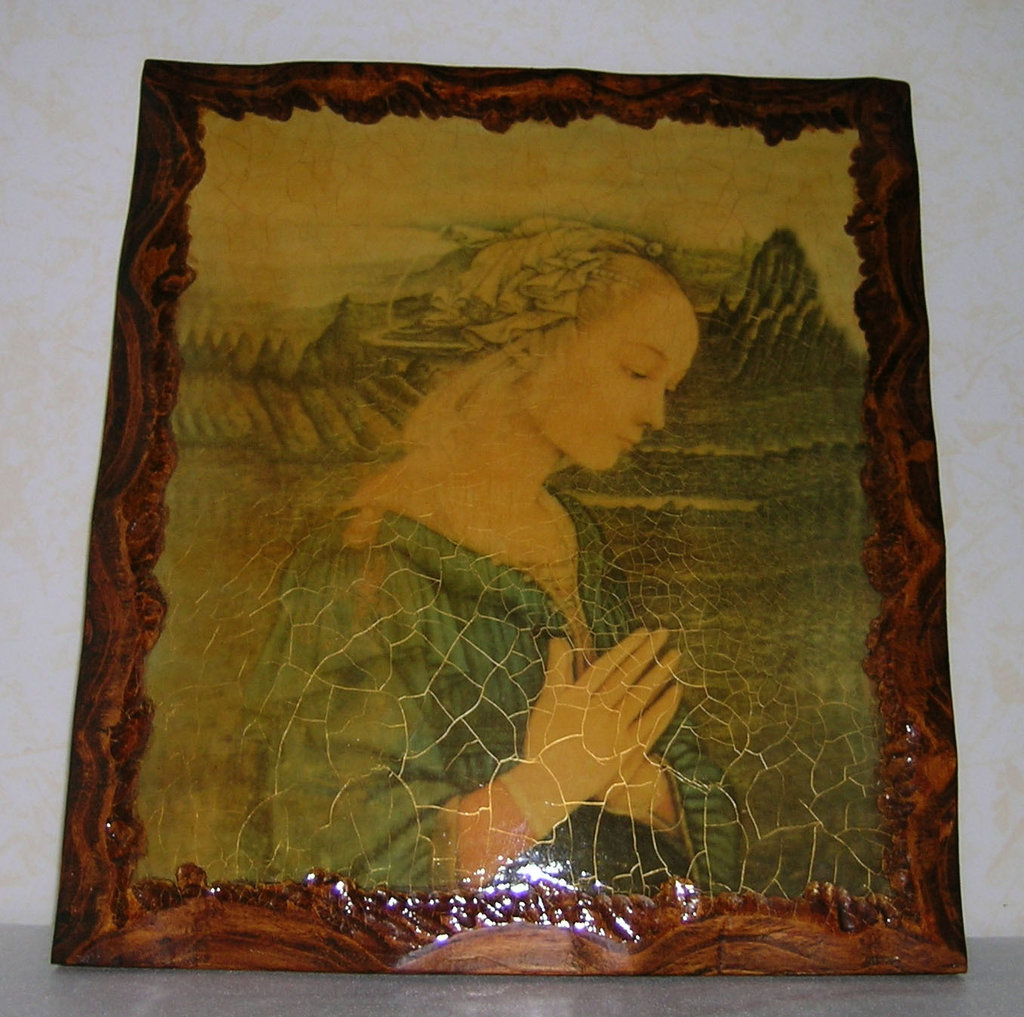 Madonna antichizzata