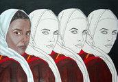 dipinto- Donna