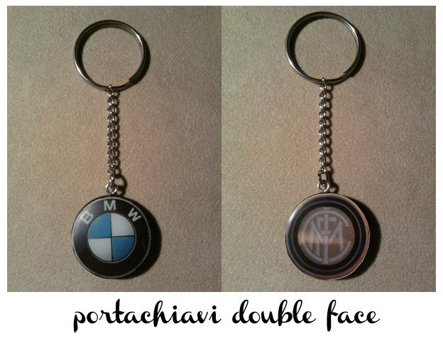 Portachiavi double face BMW-INTER fimo