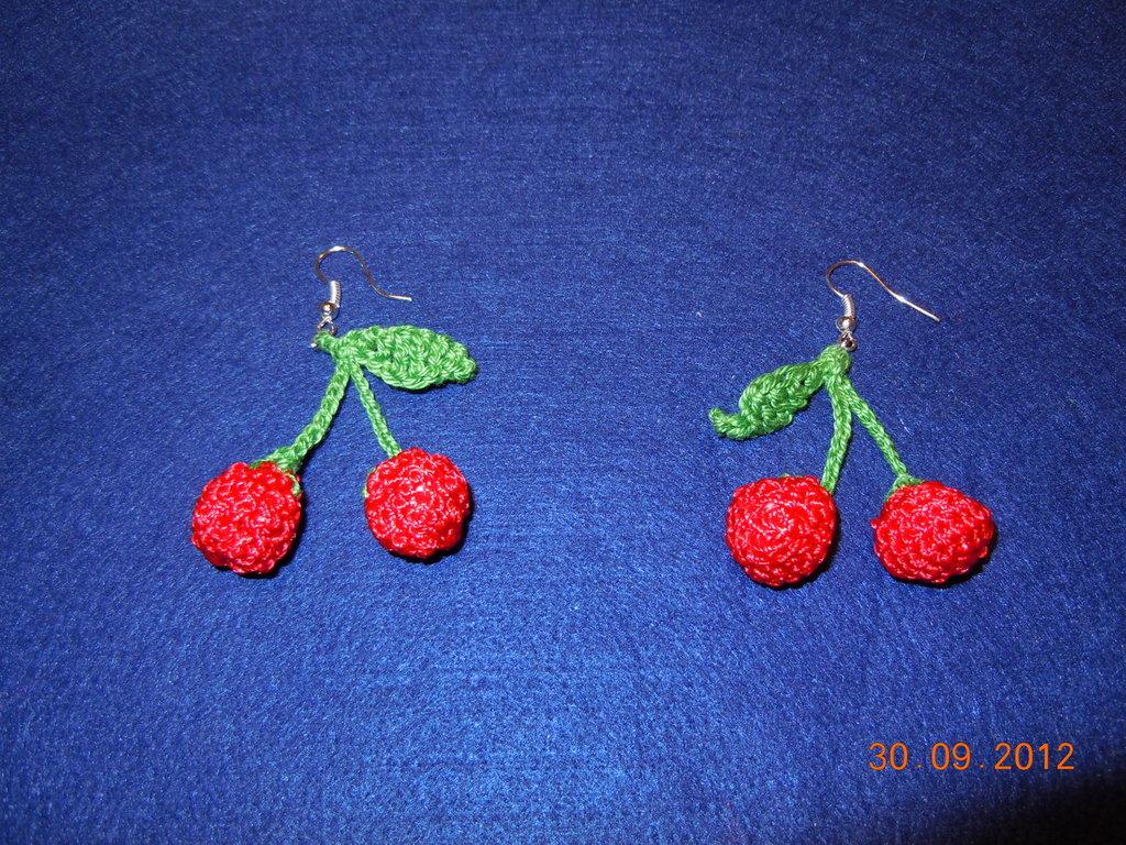 Orecchini ciliegie