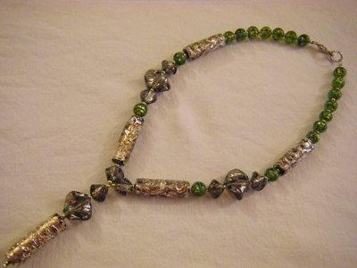 collana con vetro di murano