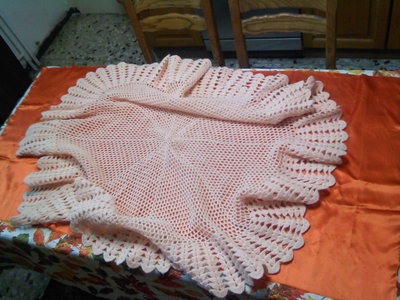 scialle rosa