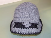 cappellino lana uncinetto adulto