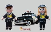 Broche Policia