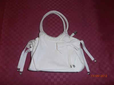 B5  Borsetta bianca originale---Original white handbag