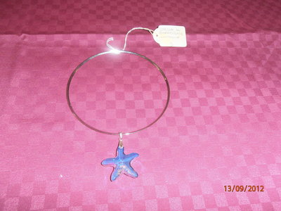 C8 girocollo stella Swarovsky---Swarovsky star necklace