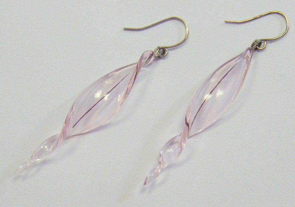 orecchini con vetro di murano