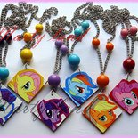 collane my little pony dipinte a mano
