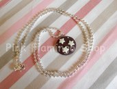 Collana Pan di Stelle in Fimo kawaii