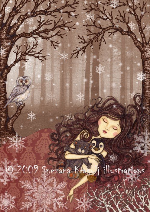 STAMPA-PRINT-Winter lullaby