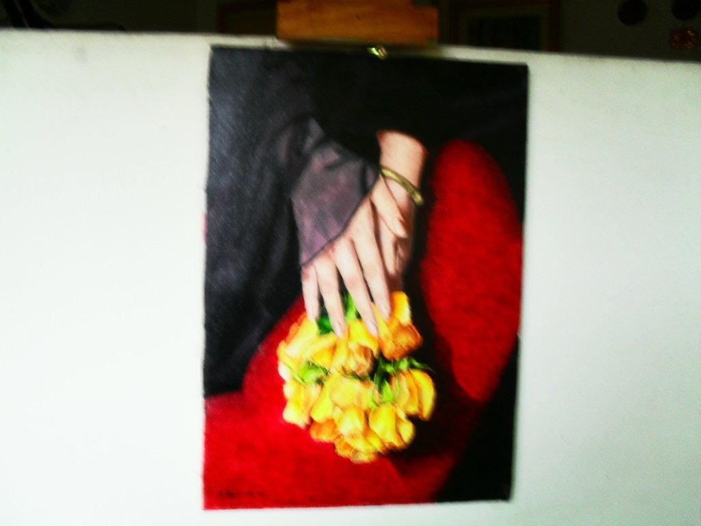 mani e fiori