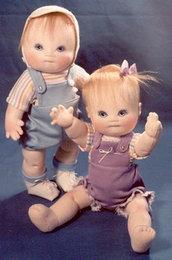 Baby Doll da cucire modello 12 pollici con snodo Doll Boy panno o una ragazza e abbigliamento DEAN o DEANNA