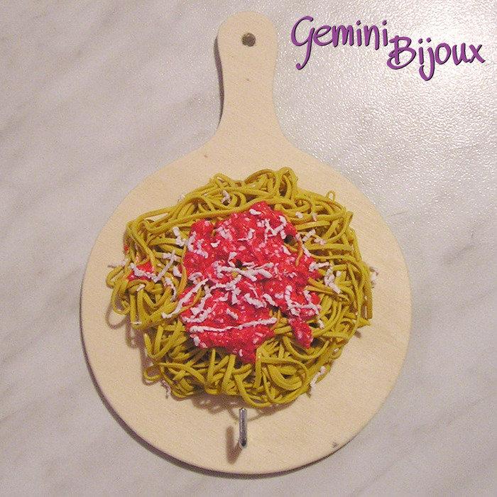 Tagliere appendi-presina spaghetti