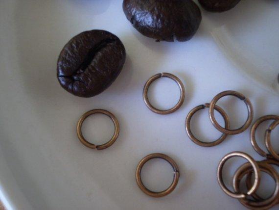 200 Anellini per Bijoux 7 mm
