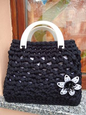 Borsa Black and White