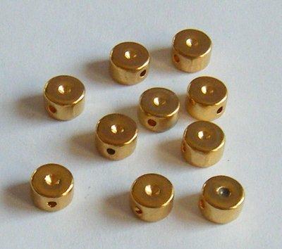 distanziatori in metallo colore oro