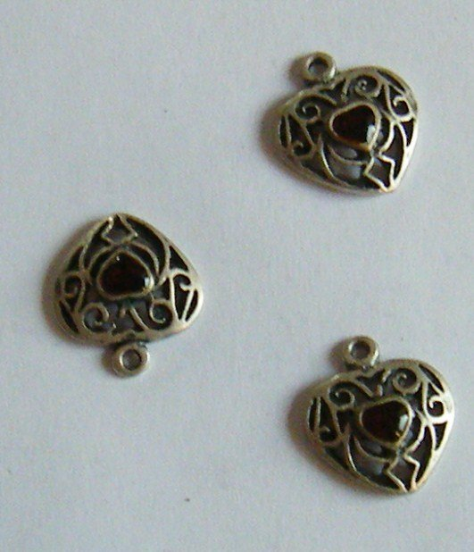 charms ,cuore,