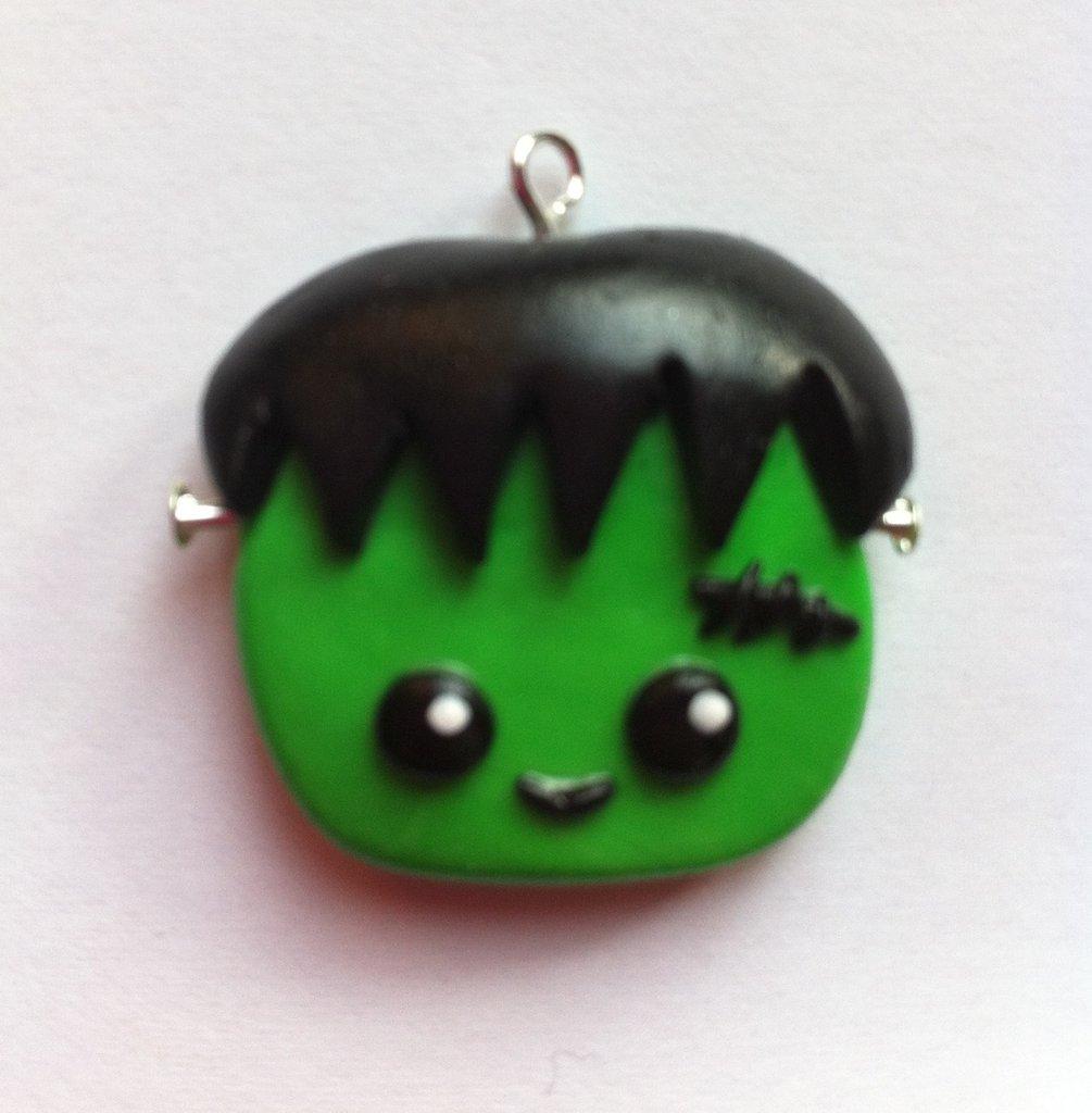 Frankenstein per Halloween / Halloween Frankenstein Charm