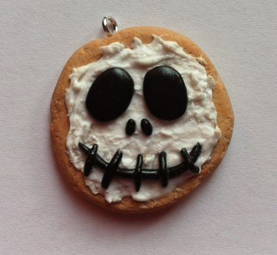 Biscotto con glassa Jack Skellington / Jack Skellington frosted cookie