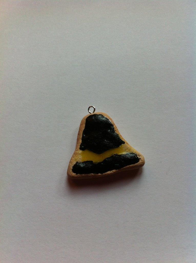 Biscotto con glassa Cappello di Strega / Witch's Hat frosted cookie
