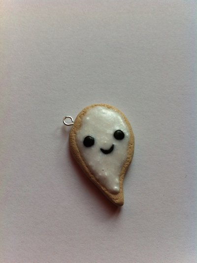 Biscotto con glassa Fantasma / Ghost frosted cookie