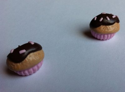 Orecchini a perno Cupcake / Stud earrings Cupcake